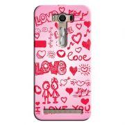 Capa Personalizada para Asus Zenfone 2 Laser ZE550KL Love - LV04