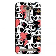 Capa Personalizada para Asus Zenfone 2 Laser ZE550KL Love Panda - LV21