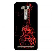 Capa Personalizada Exclusiva Asus Zenfone 2 Laser ZE550KL Music Guitarra - MU11