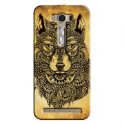 Capa Personalizada Exclusiva Asus Zenfone 2 Laser ZE550KL Pets Lobo Silvestre - PE81