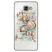 Capa Transparente Personalizada Exclusiva Samsung Galaxy A5 2016 SM-A510 Bateria - TP05
