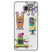 Capa Transparente Personalizada Exclusiva Samsung Galaxy A5 2016 SM-A510 Monstros - TP10
