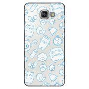 Capa Transparente Personalizada Exclusiva Samsung Galaxy A5 2016 SM-A510 Bichinhos - TP12
