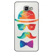 Capa Transparente Personalizada Exclusiva Samsung Galaxy A5 2016 SM-A510 Mustache - TP13