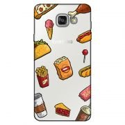 Capa Transparente Personalizada Exclusiva Samsung Galaxy A5 2016 SM-A510 Comida - TP105