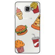 Capa Transparente Personalizada Exclusiva Samsung Galaxy A5 2016 SM-A510 Comida - TP106