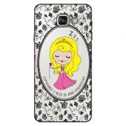 Capa Transparente Personalizada Exclusiva Samsung Galaxy A5 2016 SM-A510 Princesa Bela Adormecida - TP126