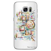 Capa Personalizada para Samsung Galaxy S7 G930 Bateria - TP05