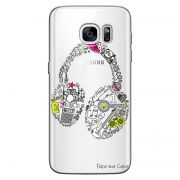 Capa Personalizada para Samsung Galaxy S7 G930 Music Fone - TP55
