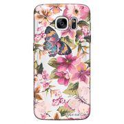 Capa Personalizada para Samsung Galaxy S7 Edge G935 Flores -TP38