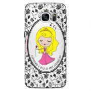 Capa Personalizada para Samsung Galaxy S7 Edge G935 Princesa Bela Adormecida - TP126