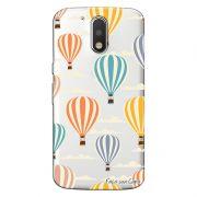 Capa Personalizada para Motorola Moto G4 Plus Balões - TP04