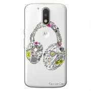 Capa Personalizada para Motorola Moto G4 Plus Music fone - TP55