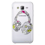 Capa Personalizada para Samsung Galaxy J3 2016 Music Fone - TP55