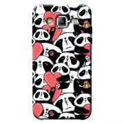 Capa Personalizada Exclusiva Samsung Galaxy J3 2016 Love Panda - LV21