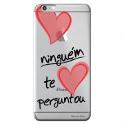 Capa Personalizada para Apple iPhone 6 6S Frases - TP188