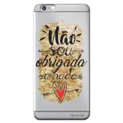 Capa Personalizada para Apple iPhone 6 6S Frases - TP193