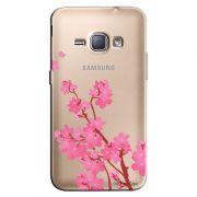 Capa Transparente Personalizada Exclusiva Samsung Galaxy J1 2016 Cerejeira - TP37