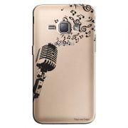 Capa Transparente Personalizada Exclusiva Samsung Galaxy J1 2016 Music - TP52