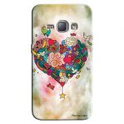 Capa Personalizada para Samsung Galaxy J1 2016 Coração Abstrato - LV19