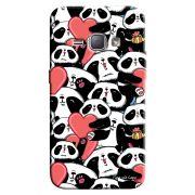 Capa Personalizada Exclusiva Samsung Galaxy J1 2016 Love Panda - LV21