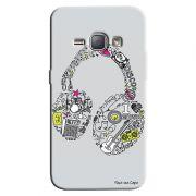 Capa Personalizada para Samsung Galaxy J1 2016 Music Fone - MU01