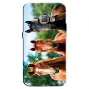 Capa Personalizada para Samsung Galaxy J1 2016 Cavalos - PE32