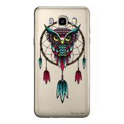 Capa Transparente Personalizada Exclusiva Samsung Galaxy J5 2016 Coruja - TP20