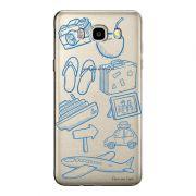 Capa Transparente Personalizada Exclusiva Samsung Galaxy J5 2016 Viagem - TP28