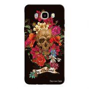 Capa Personalizada para Samsung Galaxy J5 2016 Caveira - CV21