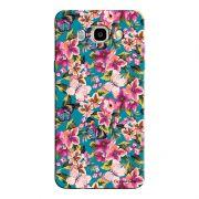 Capa Personalizada para Samsung Galaxy J7 2016 Flor - FL01