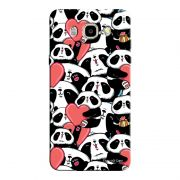 Capa Personalizada para Samsung Galaxy J7 2016 Love Panda - LV21