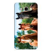 Capa Personalizada para Samsung Galaxy J7 2016 Cavalos - PE32