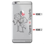 Capa Personalizada com Nome para Apple Iphone 6 6S Plus - NM03