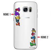 Capa Personalizada com Nome para Samsung Galaxy S7 SM-G930 - NM05