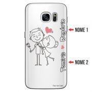 Capa Personalizada com Nome para Samsung Galaxy S7 Edge SM-G935 - NM03