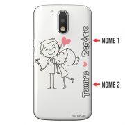 Capa Personalizada com Nome para Motorola Moto G4 Play XT1600 - NM03