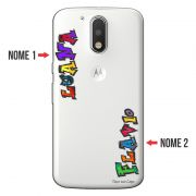 Capa Personalizada com Nome para Motorola Moto G4 Play XT1600 - NM05