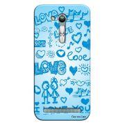 Capa Personalizada para Asus Zenfone Go Mini I Love You - LV03
