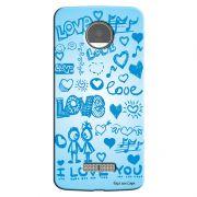 Capa Personalizada para Motorola Moto Z I Love You - LV03