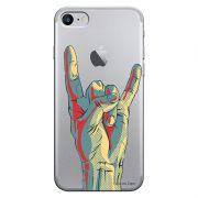 Capa Personalizada para Apple iPhone 7 Rock'n Roll - TP51