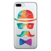 Capa Personalizada para Apple iPhone 7 Plus Mustache - TP13