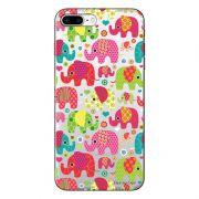 Capa Personalizada para Apple iPhone 7 Plus Elefantes - TP25