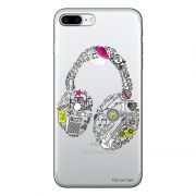 Capa Personalizada para Apple iPhone 7 Plus Music Fone - TP55