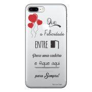 Capa Personalizada para Apple iPhone 7 Plus Frases - TP162