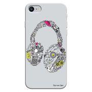 Capa Personalizada para Iphone 7 Music Fone - MU01