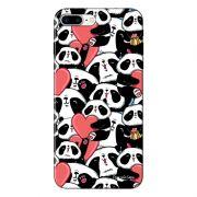 Capa Personalizada para Iphone 7 Plus Love Panda - LV21