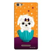 Capa Personalizada para Positivo S455 Selfie Cachorro no Pote - DE03