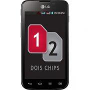 Película Protetora LG Optimus LG E455 E450 L5II Dual Transparente