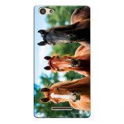 Capa Personalizada para Positivo S455 Selfie Cavalos - PE32